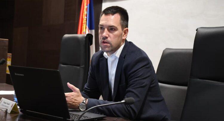dr Predrag Terzić, sednica gradsko veća